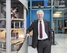 Geschäftsführender Direktor Professor Claus Lämmerzahl, Quelle: ZARM