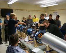 REXUS/BEXUS Team (Raketen-/BallonEXperimente für UniversitätsStudenten) (Quelle: DLR)