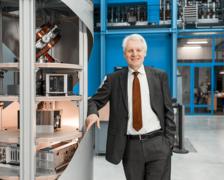 Claus Lämmerzahl, Direktor der Abteilung Weltraumwissenschaften am ZARM, Universität Bremen