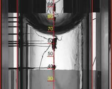 experimental setup, source: ZARM